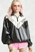 Forever 21 Metallic Anorak Jacket