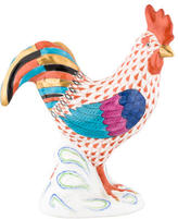Herend Hand-Painted Rooster Figurine