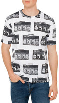 Paul Smith Cotton Ghetto Blast Print T Shirt