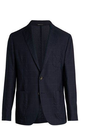 Saks Fifth Avenue COLLECTION Windowpane Travel Suit Jacket