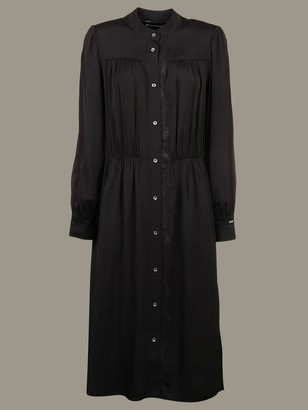 Calvin Klein Long Dress With Long Sleeves