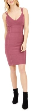 Bar III Strappy Bodycon Sweater Dress, Created for Macy's