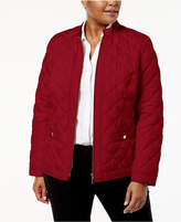 Charter Club Plus Size Quilted Jacket, Created for Macy's