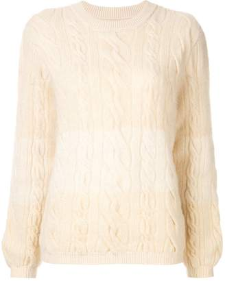 Coohem cable knit jumper