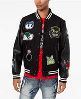 Reason Men's Patch Varsity Jacket