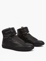 Maison Margiela Black Leather Future Hi-Top Sneakers