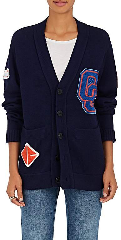 Opening Ceremony Women's Varsity Wool-Blend Cardigan