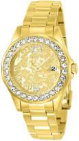 Invicta Womens Gold Tone Bracelet Watch-22870