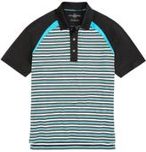 Brooks Brothers ProSport® Multistripe Raglan Sleeve Polo Shirt