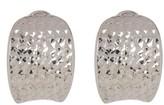 Phillip Gavriel Diamond-Cut Hoop Earrings
