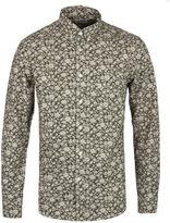 Edwin Khaki Floral Print Standard Shirt