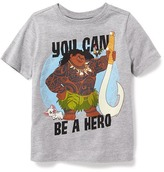 "Old Navy Disney© Moana ""You Can Be A Hero"" Tee for Toddler Boys"