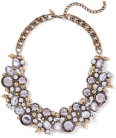 New York & Co. Sparkling Cluster Necklace