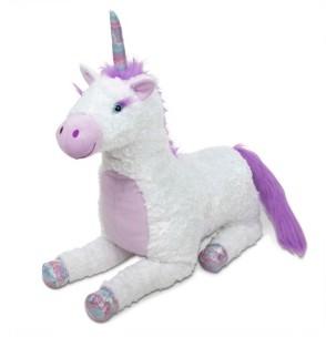 Melissa & Doug Melissa Doug Jumbo Misty Unicorn Stuffed Plush Animal 26 Inches Tall
