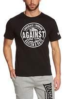 Lonsdale London Men's Against Racism Regular Fit T-Shirt -Medium