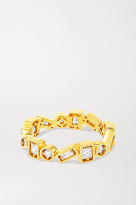 Suzanne Kalan 18-karat Gold Diamond Ring