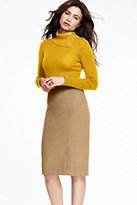 Lands' End Women's Turtleneck Sweater-Parchment