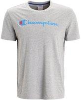 Champion Print Tshirt Grey Melange