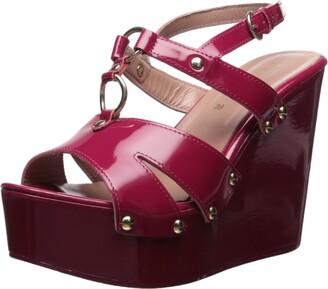 RED Valentino Women's Platform Sandal with Studs