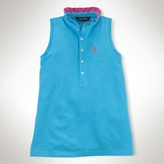 Sleeveless Ruffled Shirt