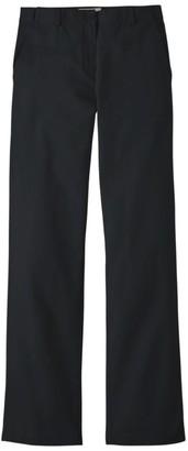 L.L. Bean L.L.Bean Women's Wrinkle-Free Bayside Pants, Classic Fit Hidden Comfort Waist