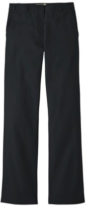 L.L. Bean Women's Wrinkle-Free Bayside Pants, Classic Fit Hidden Comfort Waist