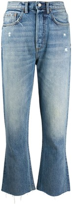 Boyish Darcy cropped flared jeans
