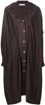 Christian Dior 1980's pre-owned midi coat