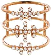 Yannis Sergakis Adornments Triple Stacked Diamond Charnieres Ring - Rose Gold