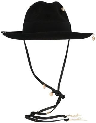 Ruslan Baginskiy Piercing Fedora Hat
