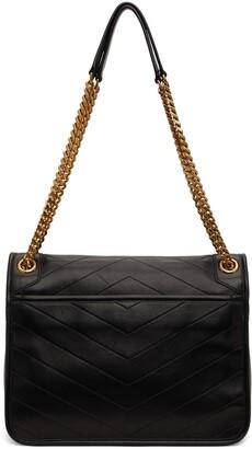Saint Laurent Black Medium Niki Shoulder Bag
