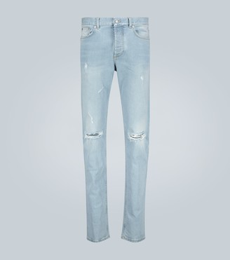 Givenchy Destroyed slim-fit jeans