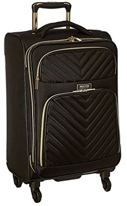 Kenneth Cole Reaction Chelsea Two-Piece Set (20 Carry-On Laptop Tote) (Black Chevron) Luggage