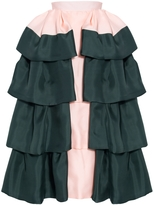 DELPOZO Ruffled Long Skirt