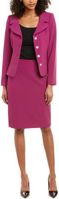 Tahari by Arthur S. Levine Tahari Asl 2Pc Jacket & Skirt Set