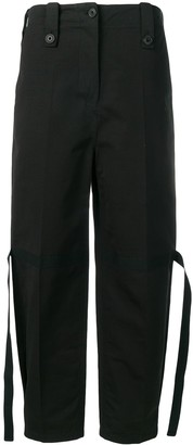 Givenchy Tie Details Trousers