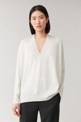 Cos Cocooning Wool Top
