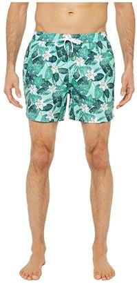Onia Charles Trunks 5 (Reef Blue) Men's Swimwear