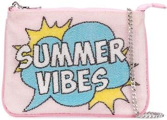 MC2 Saint Barth Summer Vibes beaded clutch bag