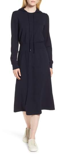 Nordstrom Signature Hooded Sweatshirt Dress