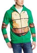 Nickelodeon Teenage Mutant Ninja Turtles Costume Zip Mens Hoodie Sweatshirt