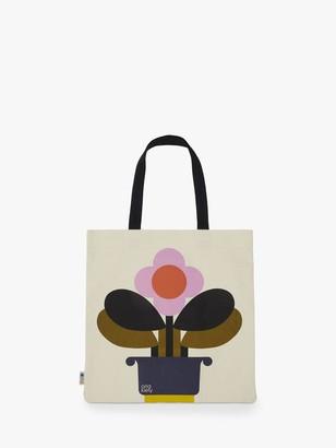 Orla Kiely Canvas Book Bag