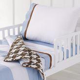 Bacati 4-pc. Metro Blue Toddler Bedding Set