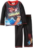 Komar Kids Turbo and Burn Built for Speed Toddler Pajamas for Little Boys