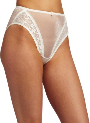 Carnival Womens High Cut Lace Stretch Bikini Panty