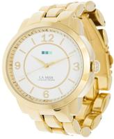 La Mer Gold Oversized Watch