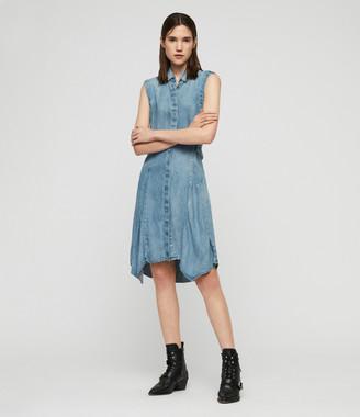 AllSaints Francis Denim Dress