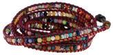 Chan Luu Multicolor Agate Bead Wrap Bracelet