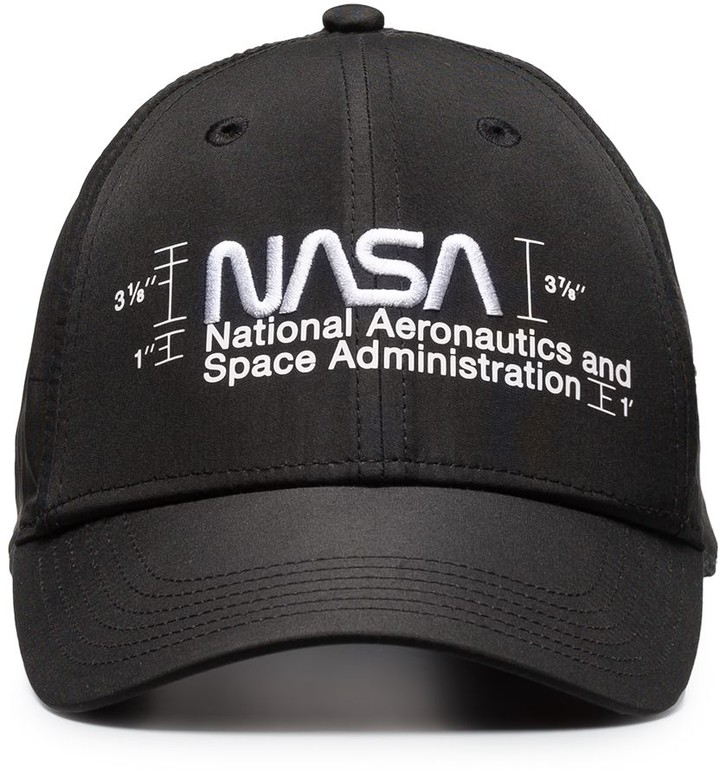 Heron Preston NASA logo cap