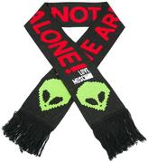 Love Moschino alien print scarf